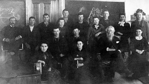 photo of the first graduating class of the Madawaska Training School