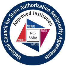 a National Council for State Authorization Reciprocity Agreements Approved Institution