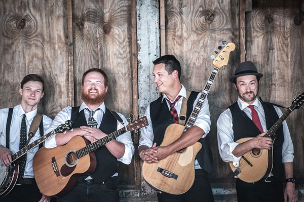 photo of the holler-folk band the Ghost of Paul Revere