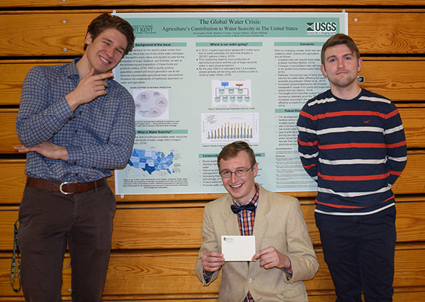 Georgii Safonov, Hunter Milliard, Matthew Forshey, and Kevaughan Smith - For Best Descriptive Research Poster in the 2019 Scholars' symposium: