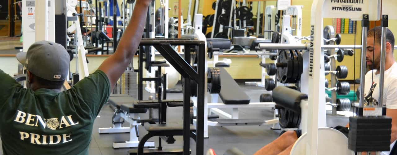 Students Within The Gym
